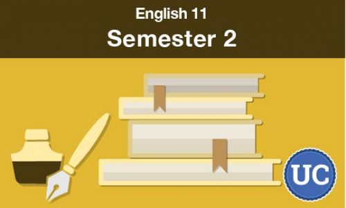 UC approved English 11 Semester two