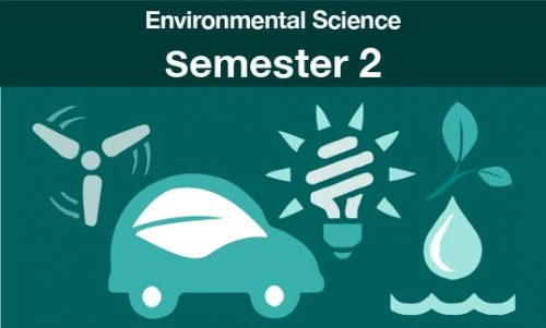 environmental science Semester two