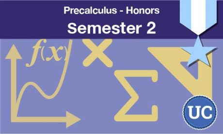 Precalculus Honors Semester two