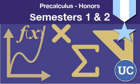 Precalculus Honors Semesters one and two