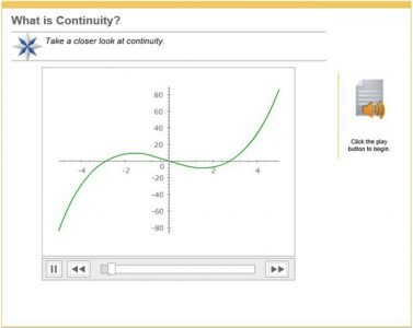 Advanced Placement Calculus - continuity