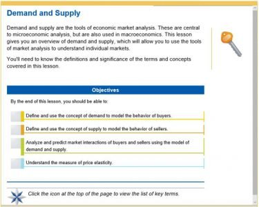 Advanced Placement Macroeconomics - demand and supply