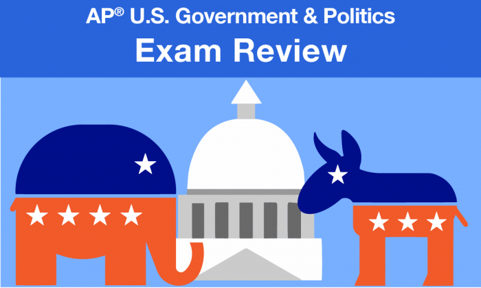 advanced placement US government and politics exam review
