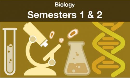 biology Semesters one and two