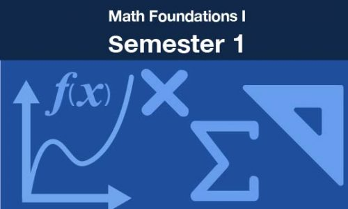 math foundations 1 Semester one