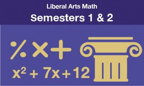 Liberal Arts Math Semesters one and two