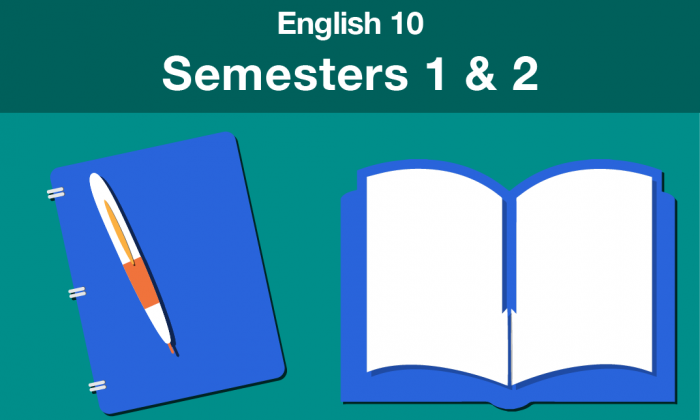 english 10 Semesters one and two