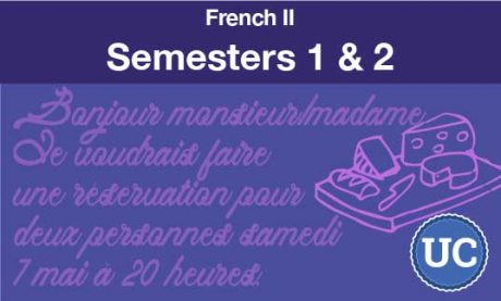 French two Semesters one and two