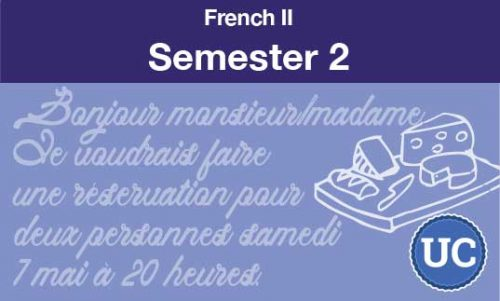 French two Semester two