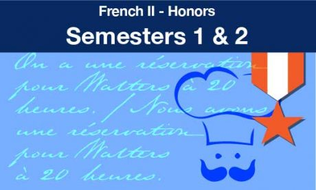 French two Honors Semesters one and two