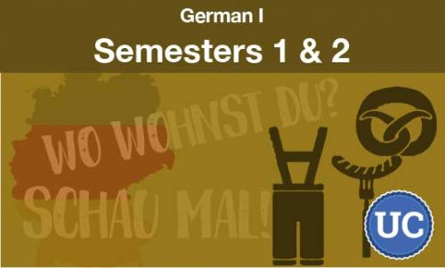 German 1 Semesters one and two