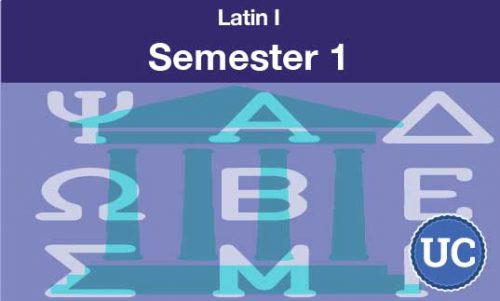 Latin one Semester one