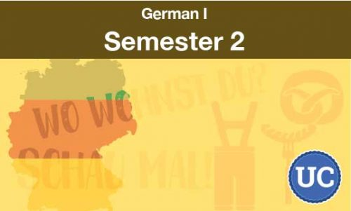 German one Semester two
