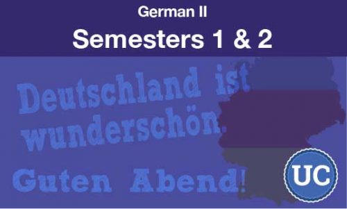 German two Semesters one and two