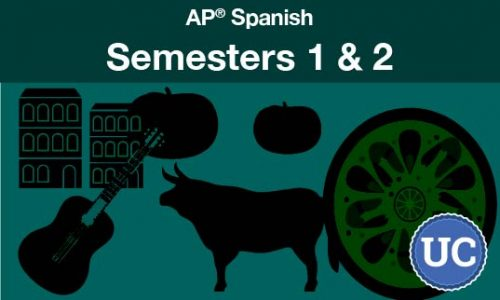 AP Spanish Semesters one and two
