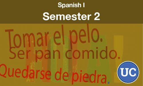 Spanish One Semester two