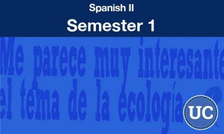 Spanish two Semester one