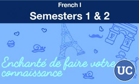 French one Semesters one and two