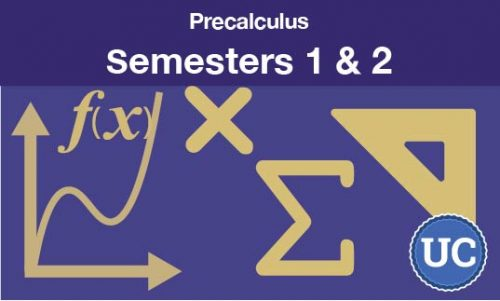 Precalculus Semesters one and two