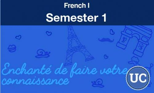 French one Semester one