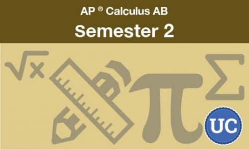 Advanced Placement Calculus AB Semester two
