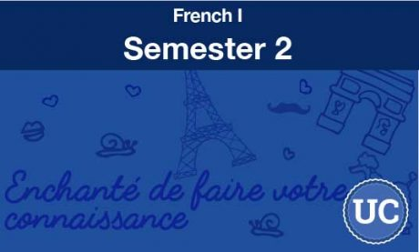 French one Semester two