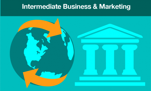 Intermediate business and marketing course