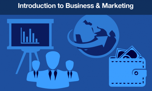 Introduction to business and marketing course