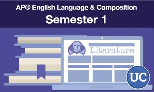UC approved AP® English Language & Composition Semester one