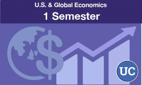 UC approved U.S. and Global Economics a one semester course