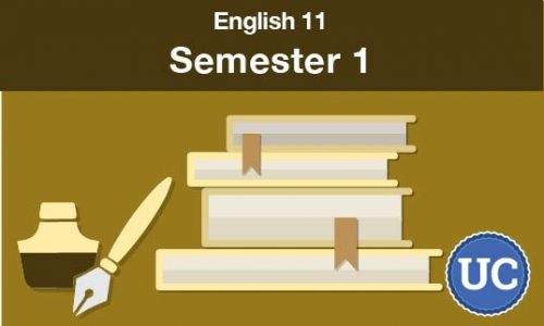 UC approved English 11 Semester one