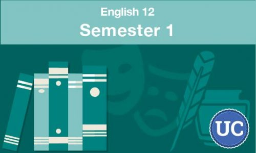 UC approved English 12 semester one