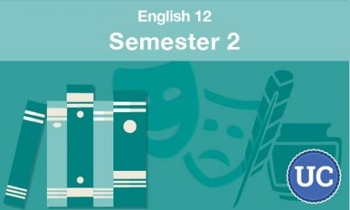 UC approved English 12 semester two