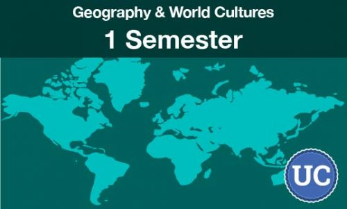 Geography and World Cultures - a one semester course