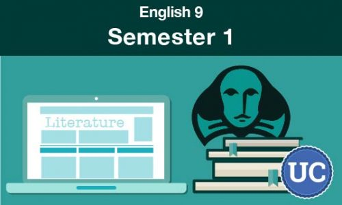 UC approved English 9 Semester one