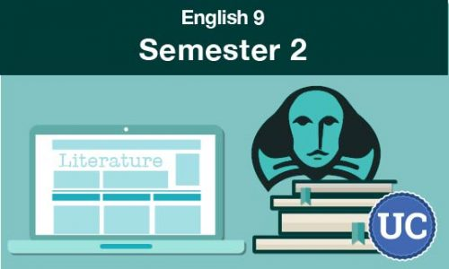 UC approved English 9 Semester two