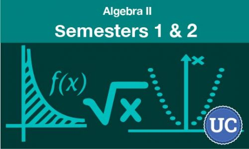 algebra 2 Semesters one and two