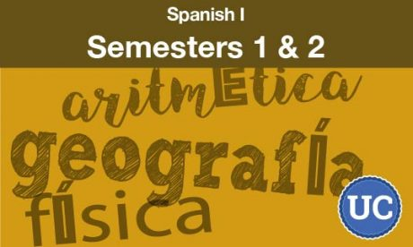 Spanish One Semesters one and two