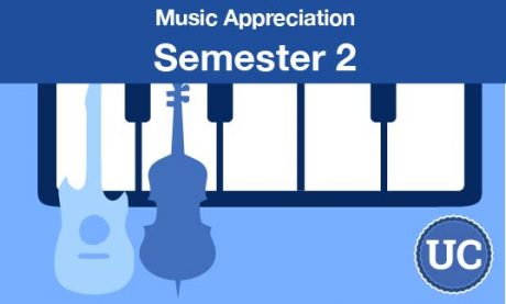 UC approved Music Appreciation Semester two