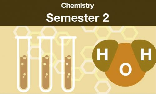 chemistry Semester two