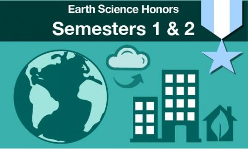 earth science honors Semesters one and two
