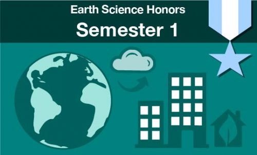 earth science honors Semester one