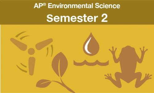 AP® Environmental Science Semester two