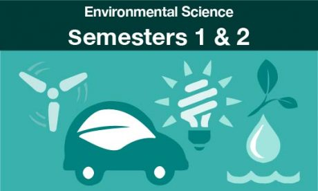 environmental science Semesters one and two