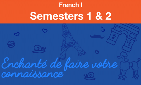 french 1 Semesters one and two