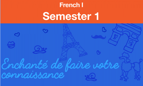 french 1 Semester one