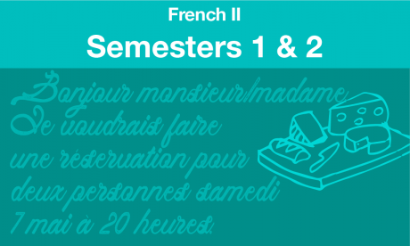 french 2 Semesters one and two