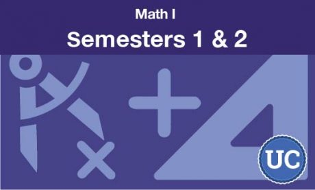 Math 1 Semesters one and two