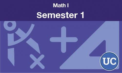 math 1 Semester one
