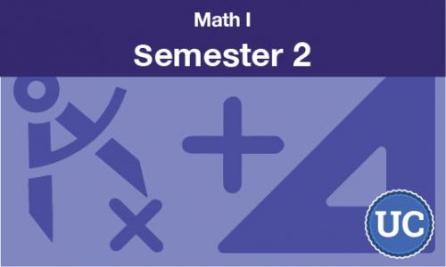 math 1 Semester two